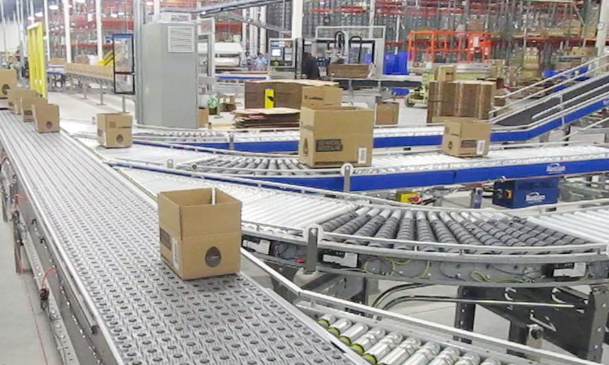 Newegg logistics warehouse fulfillment warehouse Los Angeles