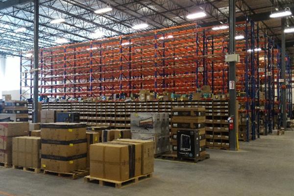Vancouver fulfillment center Newegg Logistics