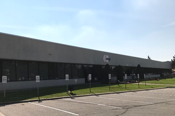 outside view of warehouse Newegg Logistics