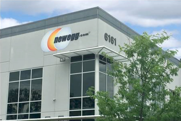 Corporate headquarters Los Angles Newegg Logistics