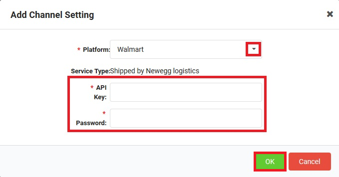 How to set up sales channels - Newegg Logistics Knowledge Base