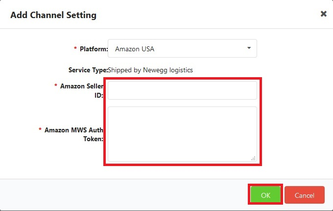 How To Set Up Sales Channels Newegg Logistics Knowledge Base